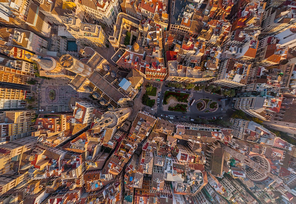 Cathedral of Valencia. Photo credit: Airpano