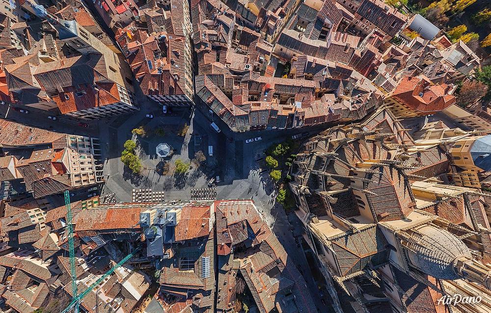 Cathedral of Segovia. Photo credit: Airpano