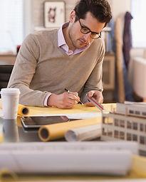 Architecte au travail