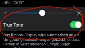 Kein True Ton mehr nach iPhone Display Wechsel?