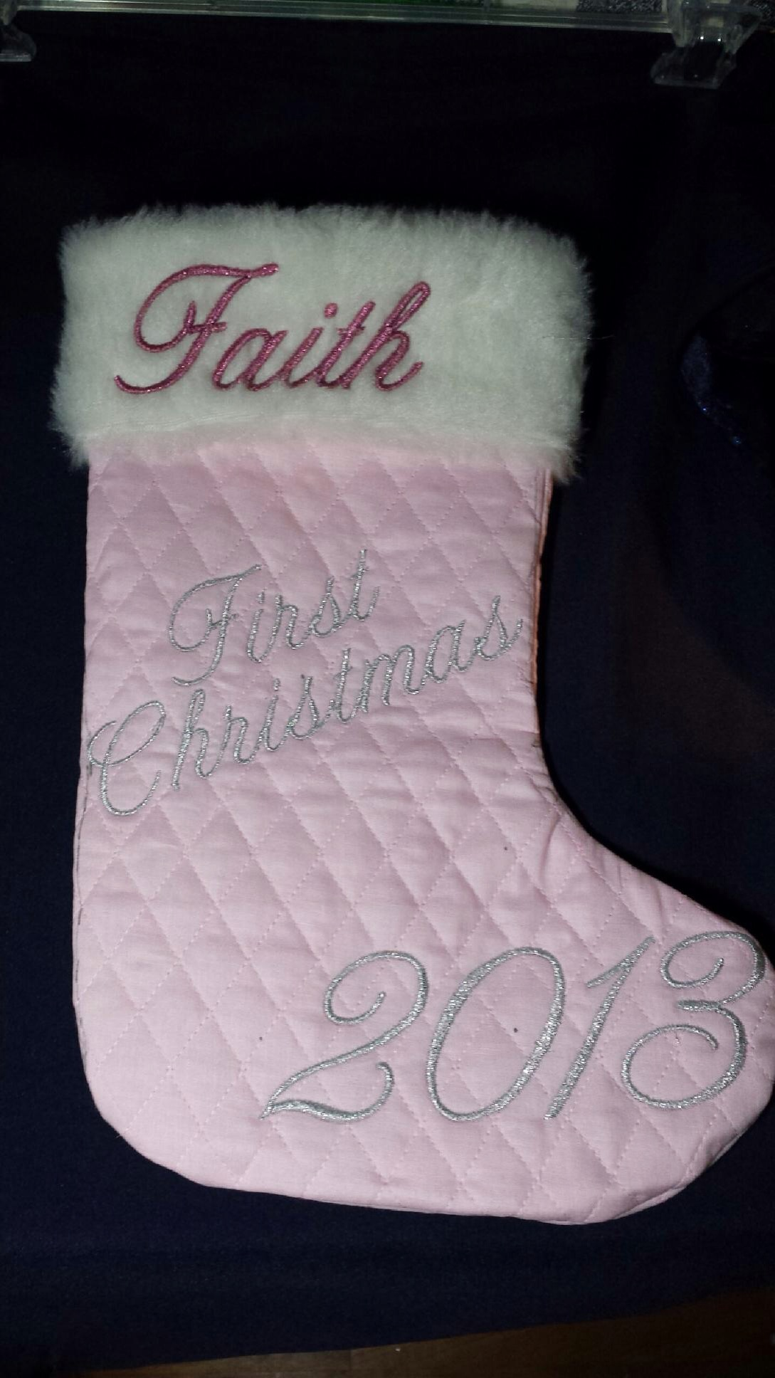 First Christmas stocking
