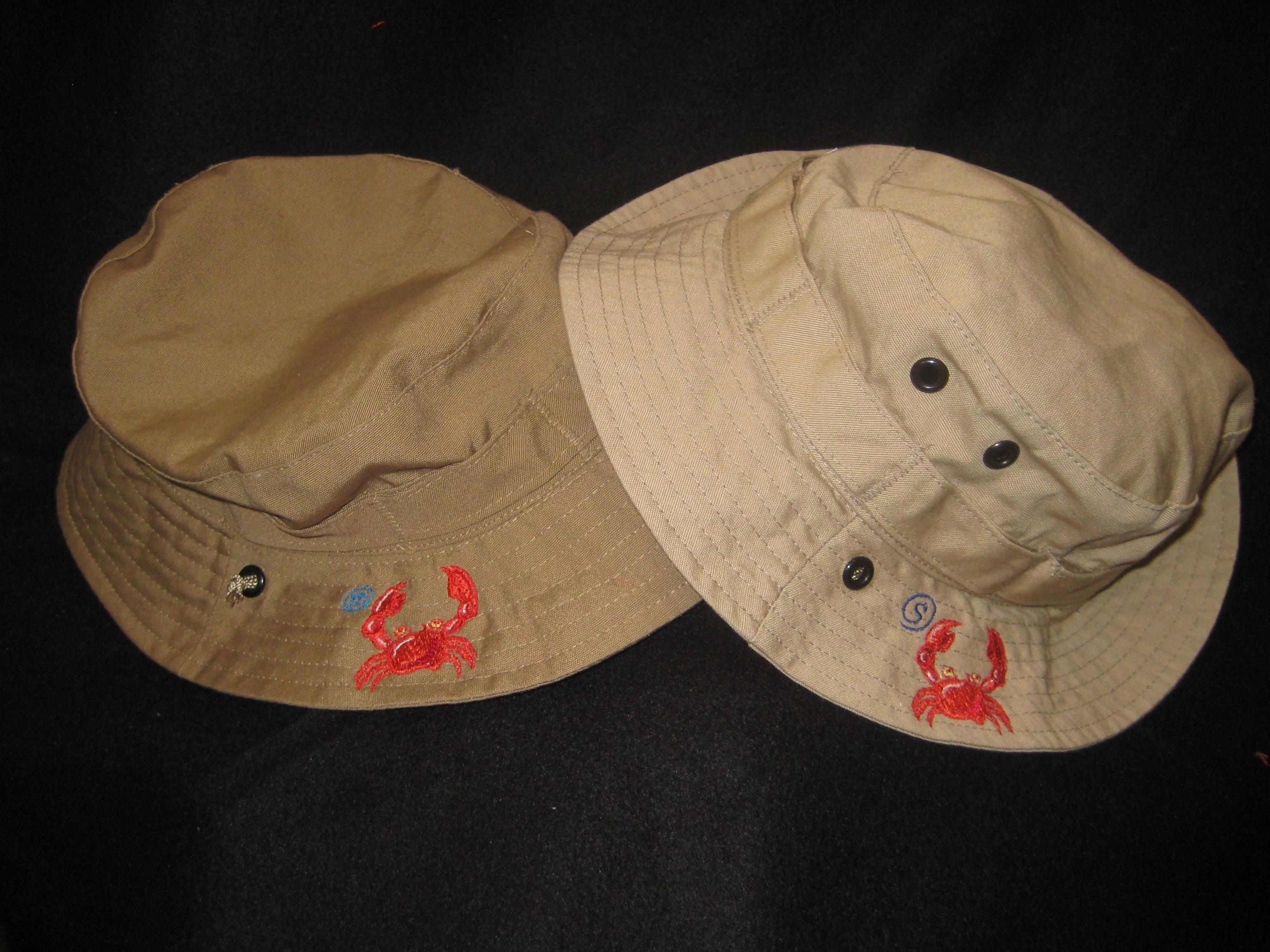 crab hats