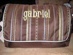 Purchased diaper bag