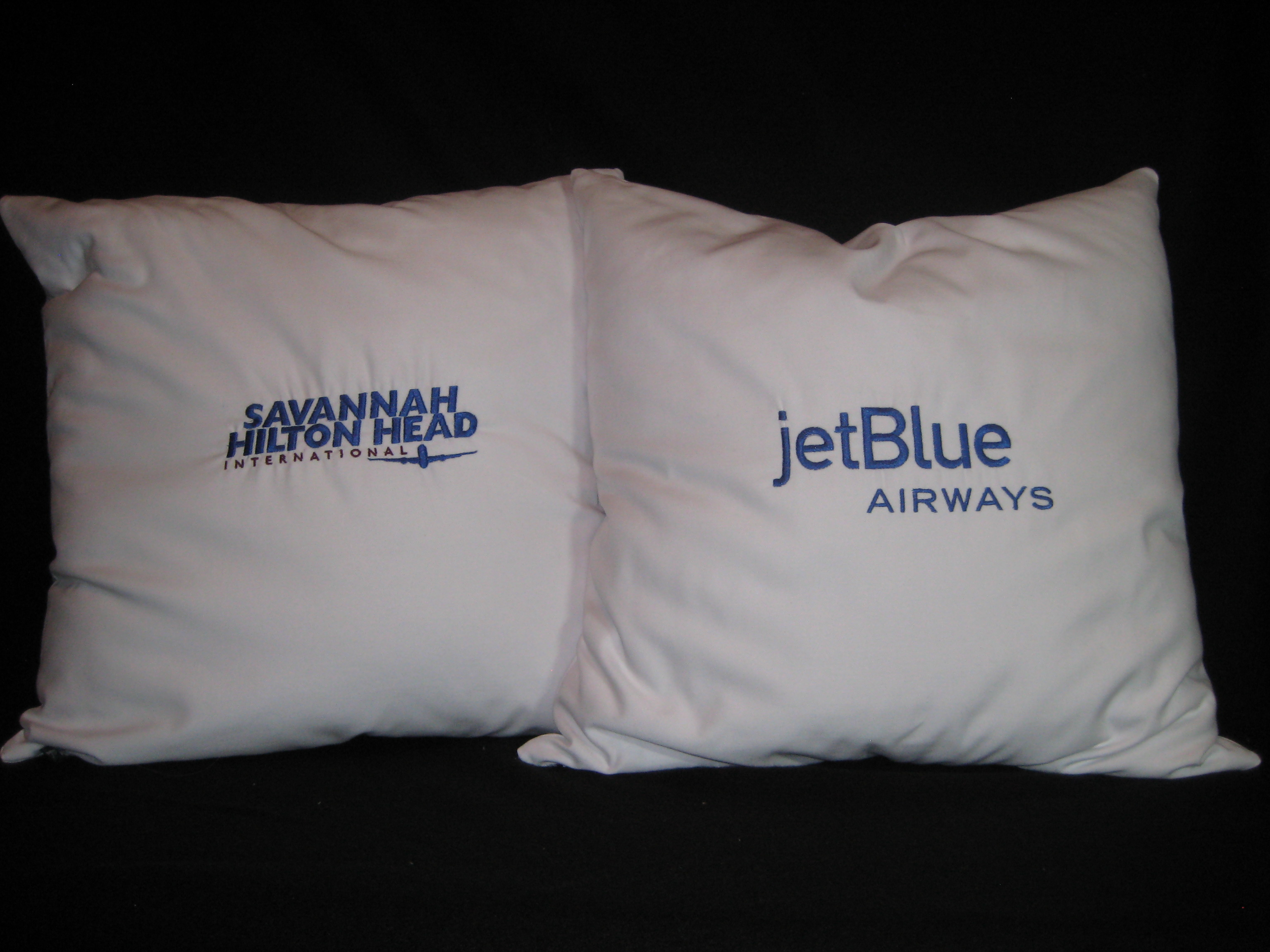 Corporate pillows