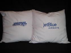 Corporate pillows