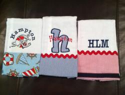 Themed Burp cloths