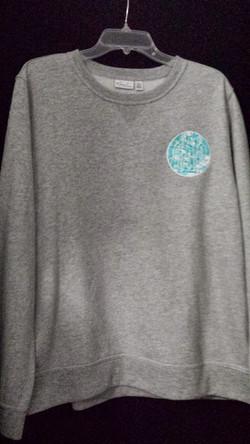 ADPi gray sweatshirt
