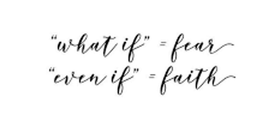 Let's Talk: Faith
