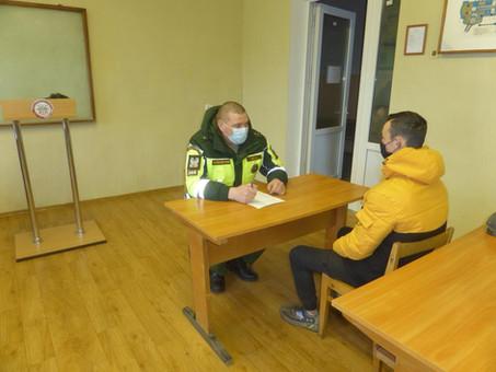 Проверка теоретической подготовки курсантов Черняховской автошколы ДОСААФ России