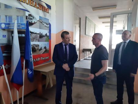 Черняховскую автошколу посетил Председатель ДОСААФ России А.П. Колмаков