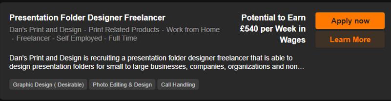 Presentation Folder Designer Freelancer