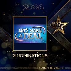 Let's Make A Deal - 2 Nominations - Post
