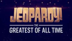 Jeopardy GOAT Logo