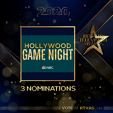 Hollywood Game Night - 3 Nominations - P