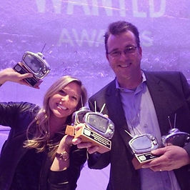 Jim and Laura Roush with Awards (2).jpg