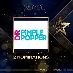 Dr Pimple Popper - 2 Nominations - Post.