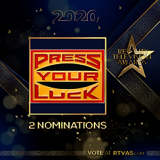 Press Your Luck - 2 Nominations - Post.p