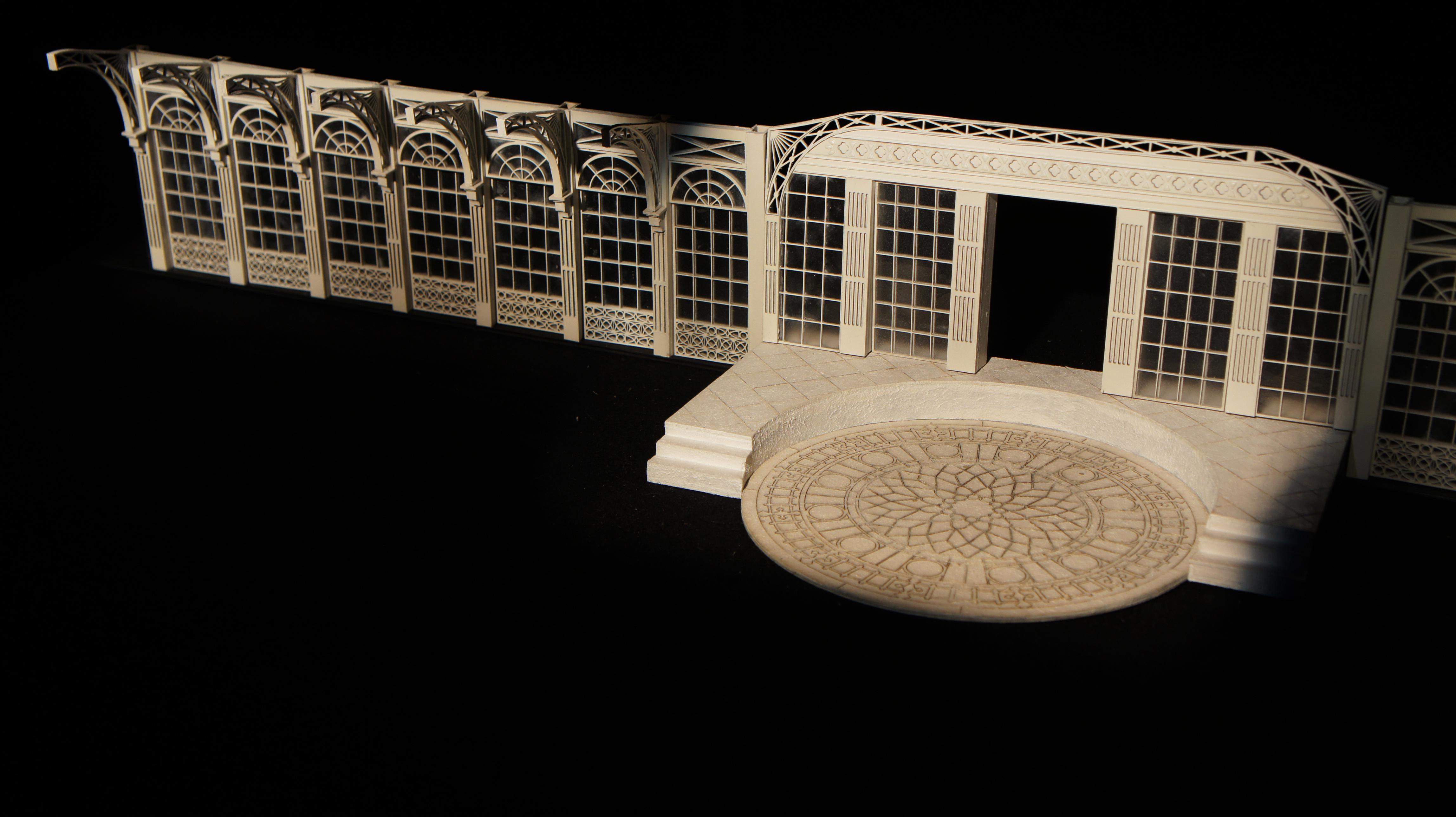 VICTORIAN ARCHITECTURE - model