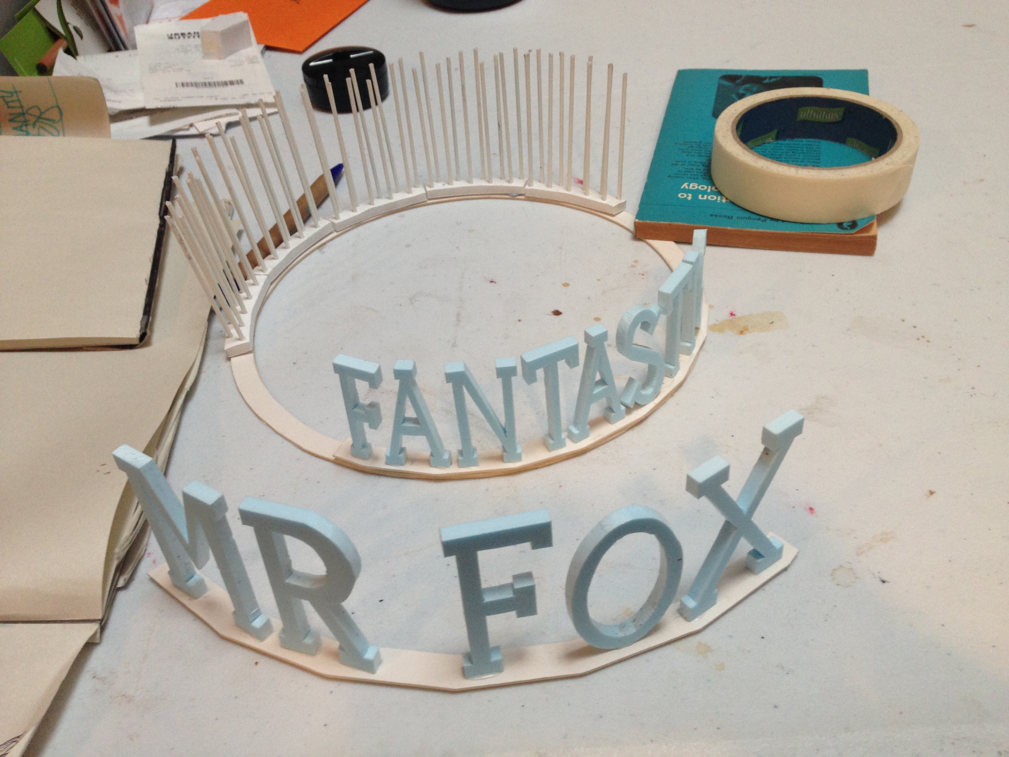 FANTASTIC MR FOX - model