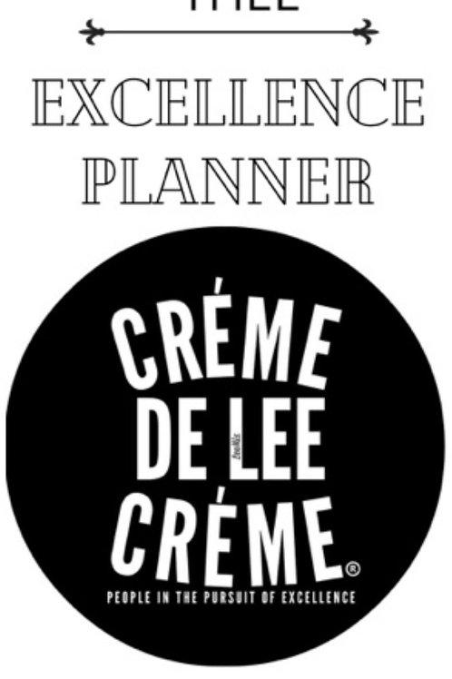 Créme De Lee Créme Planner (ONLY )
