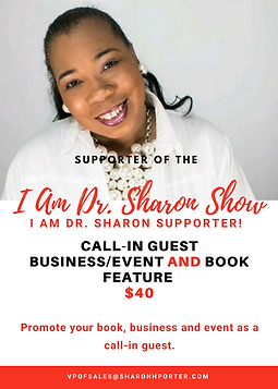 I am Dr. Sharon Show Sponsor Packages-RE
