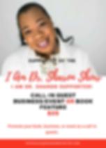 I am Dr. Sharon Show Sponsor Packages-RE