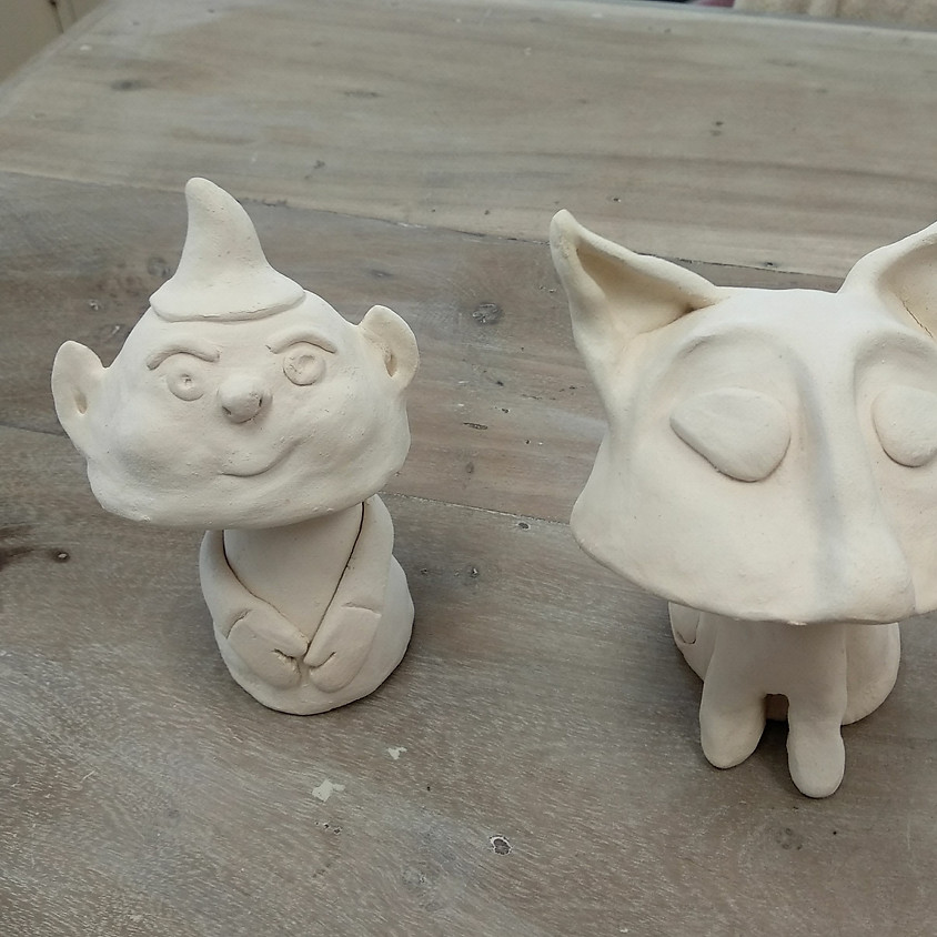 Bobble Heads (Home Education Clay Club)