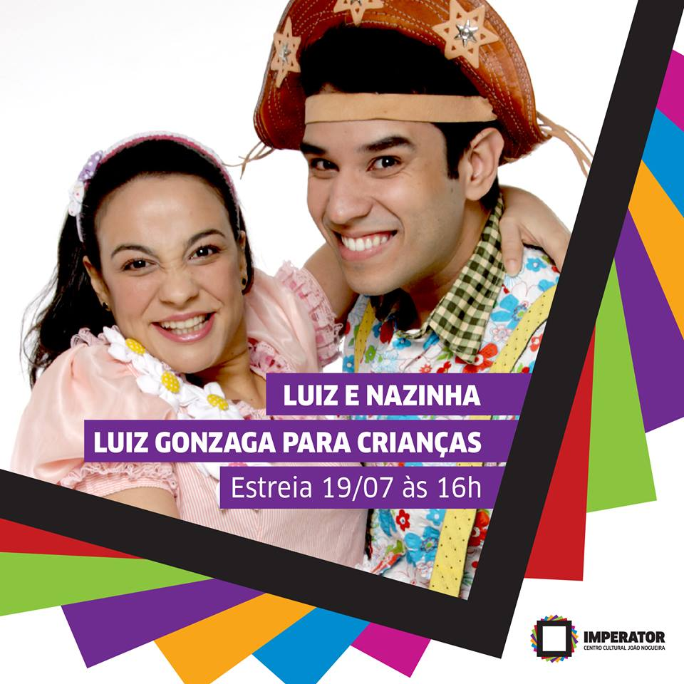 Foto da peça Luiz e Nazinha