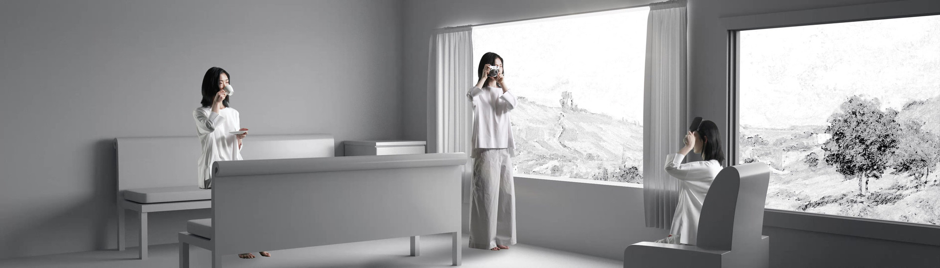 Shelter Konkuk Univ. Apparel Design Major. Graduation Fashion Show 2019  *Art Director : Seong Jae Jeon *Director of Photography : Hyeon Wook Park *Modeling : Yo Han Lim *Cast : Jin Young Kwon, Min Joon Lee
