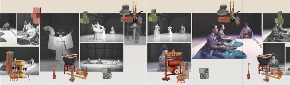 National Gugak Center, <Gugak Interactive Archives Wall> Motion Design 2017   *Develop : Rebel9 http://www.rebel9.co.kr  *Motion Design : Seong Jae Jeon http://www.jeonjayjeon.com