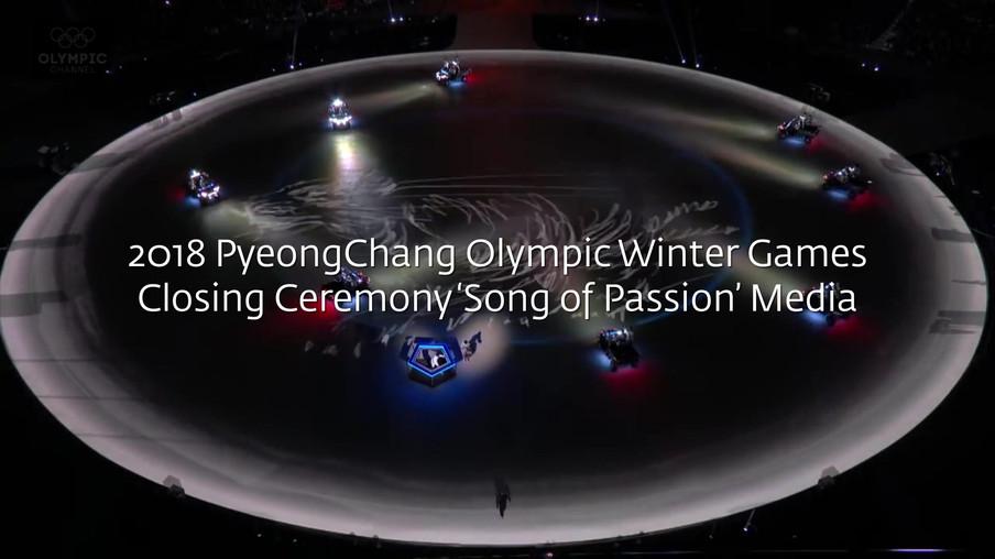 Projection Video for 2018 Pyeongchang Winter Olympic Closing Ceremony 2018  *Illustration : Seonglib seonglib.com  *3D Animation : Seongjae Jeon, Yohan Lim