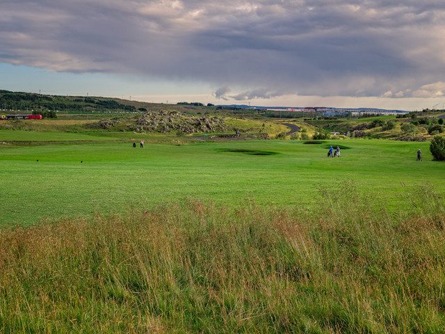 Iceland - Mosfellsbaer Golf - Golfklúbbur Mosfellsbæjar - Hlidavollur - Hlíðavöllur - 16th hole