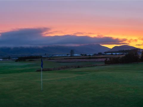 Iceland - Mosfellsbaer Golf - Golfklúbbur Mosfellsbæjar - Hlidavollur - Hlíðavöllur - pano 3