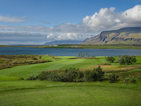 Iceland - Mosfellsbaer Golf - Golfklúbbur Mosfellsbæjar - Hlidavollur - Hlíðavöllur - 10th hole 2