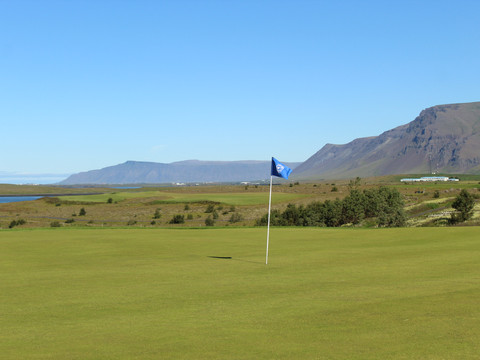 Iceland - Mosfellsbaer Golf - Golfklúbbur Mosfellsbæjar - Hlidavollur - Hlíðavöllur