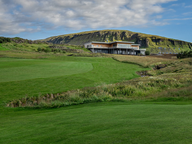Iceland - Mosfellsbaer Golf - Golfklúbbur Mosfellsbæjar - Hlidavollur - Hlíðavöllur - clubhouse view 4