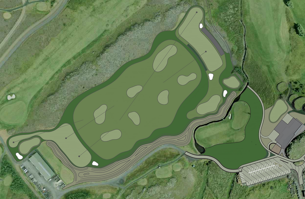 Mosfellsbaer Golf - Golfklúbbur Mosfellsbæjar - Practice Facility