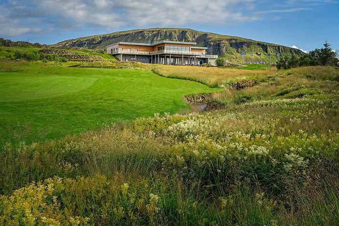 Iceland - Mosfellsbaer Golf - Golfklúbbur Mosfellsbæjar - Hlidavollur - Hlíðavöllur - Klettur - Clubhouse 1