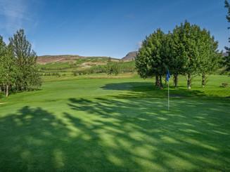 Iceland - Mosfellsbaer Golf - Golfklúbbur Mosfellsbæjar - Bakkakot - 8th green