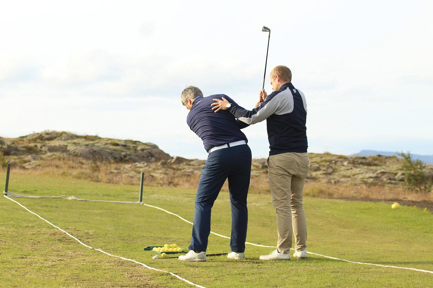 Mosfellsbaer Golf - Golfklúbbur Mosfellsbæjar - Davíð Gunnlaugsson PGA Professional