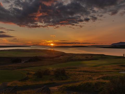 Iceland - Mosfellsbaer Golf - Golfklúbbur Mosfellsbæjar - Hlidavollur - Hlíðavöllur - midnight golf 3