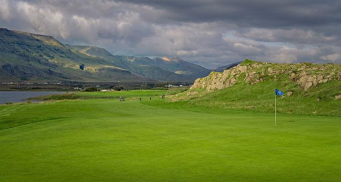 Iceland - Mosfellsbaer Golf - Golfklúbbur Mosfellsbæjar - Hlidavollur - Hlíðavöllur - 11th hole