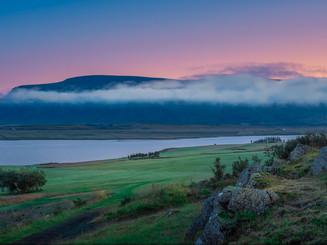 Iceland - Mosfellsbaer Golf - Golfklúbbur Mosfellsbæjar - Hlidavollur - Hlíðavöllur - panorama 1
