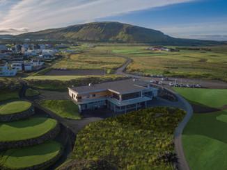 Iceland - Mosfellsbaer Golf - Golfklúbbur Mosfellsbæjar - Hlidavollur - Hlíðavöllur - clubhouse aerial 2