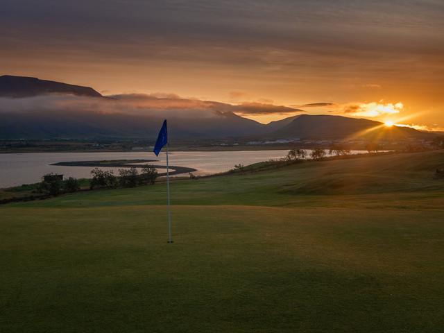 Iceland - Mosfellsbaer Golf - Golfklúbbur Mosfellsbæjar - Hlidavollur - Hlíðavöllur - midnight golf 1