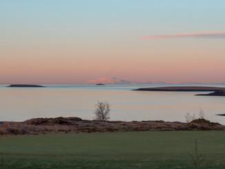 Iceland - Mosfellsbaer Golf - Golfklúbbur Mosfellsbæjar - Hlidavollur - Hlíðavöllur - boat 1 - landhelgisgæslan