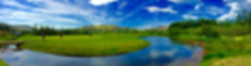 Mosfellsbaer Golf - Golfklúbbur Mosfellsbæjar - Bakkakot - panorama 1 - 9th green