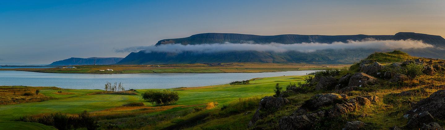 Mosfellsbaer Golf - Golfklúbbur Mosfellsbæjar - Hlidavollur - Hlíðavöllur - panorama 1