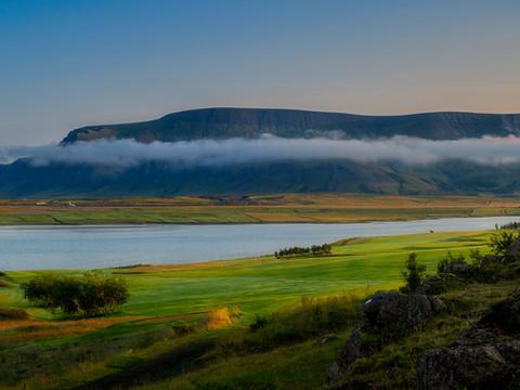 Iceland - Mosfellsbaer Golf - Golfklúbbur Mosfellsbæjar - Hlidavollur - Hlíðavöllur - pano 4