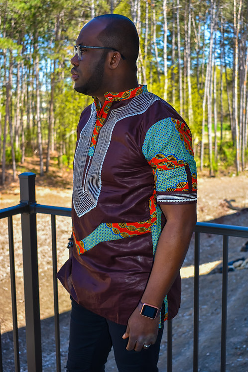 AYOTUNDE MEN  SHIRT